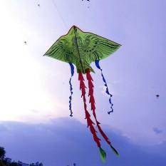 Diều thả hình Phượng hoàng 4 đuôi cỡ vừa dễ bay, tặng kèm dây 60m