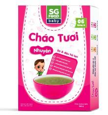 Cháo Tươi Nhuyễn Sài Gòn Food Bò & Đậu hà lan 150g