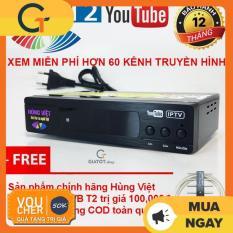 Đầu thu truyền hình mặt đất DVB T2 HÙNG VIỆT TS-123 Internet tặng Anten DVB T2