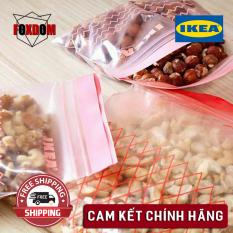 [CHÍNH HÃNG] TÚI ZIPLOCK IKEA đựng thực phẩm 50 chiếc nhiều kích cỡ đồ dùng nhà bếp bảo quản thực phẩm
