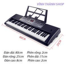 [ Ảnh Thật ] Đàn Organ Điện tử Đa năng âm sắc rõ ràng, độ vang tốt, trọng lượng nhẹ, độ bền cao và dễ sử dụng – Electronic Keyboard 61 Phím kèm phụ kiện