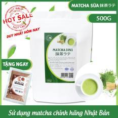 Bột trà xanh 3in1 (trà xanh sữa) – GreenD Food – 500g