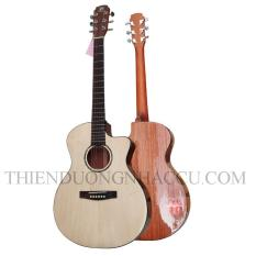 đàn guitar acoustic gỗ hồng đào 5T 51CA