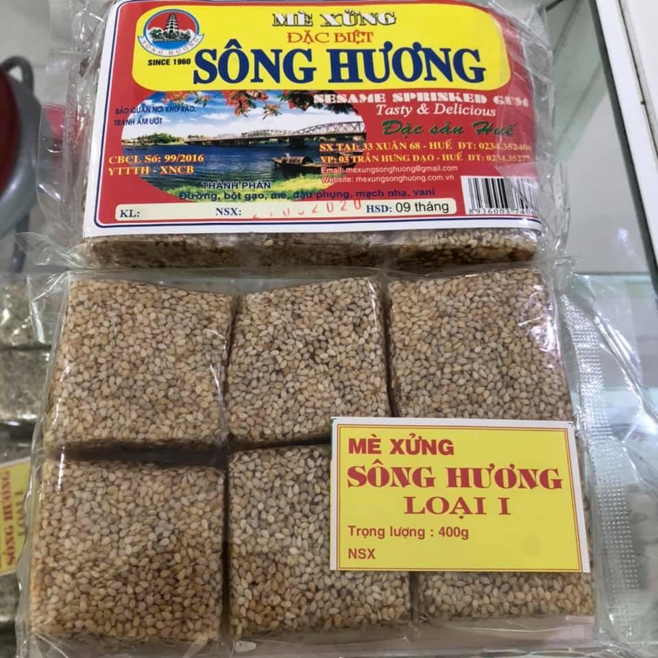 Mè Xửng dẻo Sông Hương 400g - Đặc sản Huế
