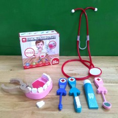 Đồ chơi bác sĩ khám răng kèm ống nghe cho bé