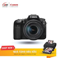 Máy Ảnh Canon EOS 90D (EF-S18-135MM F/3.5-5.6 IS USM) – Hàng Chính Hãng Lê Bảo Minh – Nhận Ngay Máy In Canon Selphy CP1300