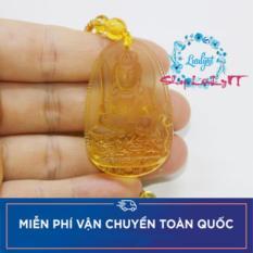 Chuỗi hạt đeo cổ Phật Văn Thù Bồ Tát màu vàng cao cấp – Phật bản mệnh người tuổi Mão