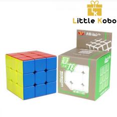 Rubik 3×3 Stickerless YJ GuanLong V3 Enhanced Rubic 3 Tầng Không Viền Đồ Chơi Trí Tuệ