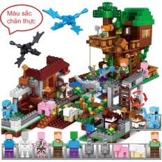 Đồ chơi lego,Lego giá rẻ, Lego Minecaft My World, Tặng 1 cặp Rồng Ender cực chất cho No1, No2, No3, No4, No5