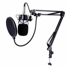 (Mua 1 tặng 1)Mic thu âm chuyên nghiệp BM 900v( tặng chân kẹp míc full boox)