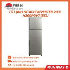 TRẢ GÓP 0% – BẢO HÀNH 1 NĂM – Tủ lạnh HITACHI H200PGV7