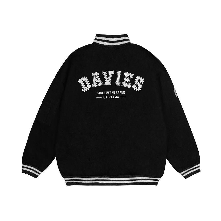 Áo khoác nam nữ Davies DSW Bomber Khaki Daviesism