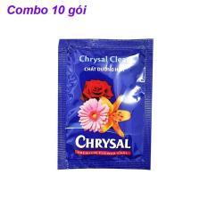 Chrysal tinh chất dưỡng hoa tươi 5g COMBO 10 gói