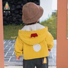 ❤️GIẢM GIÁ❤️ Áo khoác trẻ em GÀ CON 2 lớp cực ấm cho bé trai từ 7 đến 25 kg