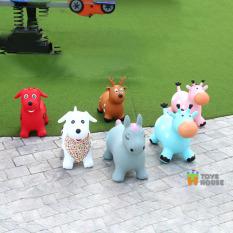 Thú nhún cao cấp cho bé kèm bơm Toys House