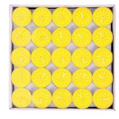 Hộp 100v Cháy đến 4h Nến Tealight ko mùi ko khói – Nến xông tinh dầu spa – Nến thả hoa đăng – Nến khử mùi – Nến hâm nóng trà – Nến cúng sao – Màu Trắng – Màu vàng – Màu đỏ