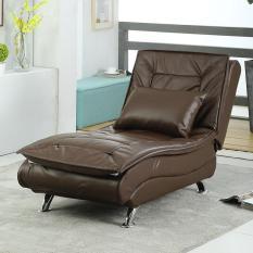 Ghế Sofa thư giãn kiêm giường Sofa thư giãn giải trí – 178 x 70 x 45cm ( màu nâu )- Ghế sofa thư giãn bằng da 3 chế độ ghế phòng khách phòng ngủ- ghế lười nằm