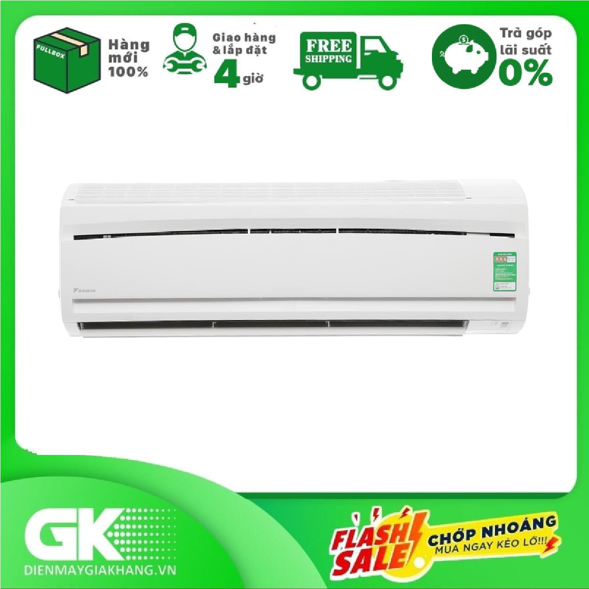 TRẢ GÓP 0% – Máy lạnh Daikin 2.0 HP FTC50NV1V