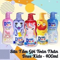 [SIÊU RẺ] Sữa Tắm Gội DNEE-KID Hình Thú – An toàn -Tiện lợi cho Bé – OANH VŨ