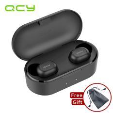 QCY T1S T2C TWS Bluetooth V5.0 True Wireless Tai Nghe 3D Stereo Không Dây Thể Thao Tai Nghe Nhét Tai có Micro Kép NHẠC Tai nghe nhét tai