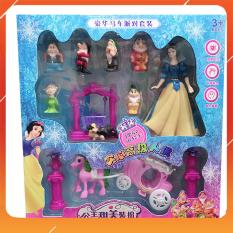Đồ Chơi Noel – Bộ Công Chúa Bạch Tuyết – Đồ Chơi Trẻ Em Toy Mart