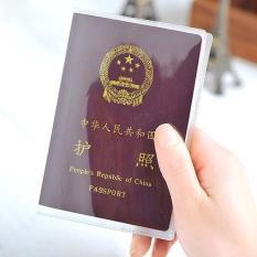 Bao bìa vỏ bọc Hộ Chiếu – Passport (PVC trong suốt)
