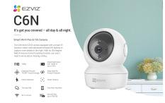 Camera Xoay 360 Wifi Ezviz C6N 1080p