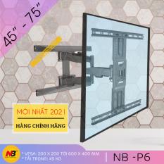 [NEW 2021] Giá Treo Tivi Góc Xoay North Bayou NB-P6 45 – 75 Inch – Khung Treo Tivi Đa Năng Cao Cấp