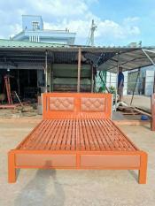 Giường sắt kiểu gỗ cao cấp ĐẠI THÀNH