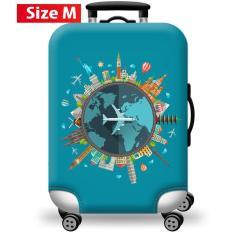 [Lấy mã giảm thêm 30%]Túi bọc bảo vệ vali -Áo vỏ bọc vali – H20 Size S M L HPValiOEM
