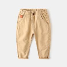 [CHÍNH HÃNG WAPYPY] Quần kaki bé trai WAPYPY dáng xinh có túi cho bé chất vải mềm mịn QK2