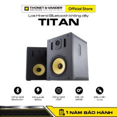 [HÀNG CHÍNH HÃNG ĐỨC] Loa Hi-end Bluetooth không dây THONET & VANDER TITAN | Công nghệ Bluetooth | Công suất 900w | Công nghệ DSP | Kết nối SPDIF | Điều khiển từ xa | Bảo hành chính hãng