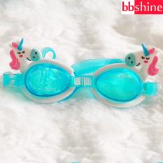 Kính bơi silicon chống nước cao cấp cho bé 3-10 tuổi họa tiết hình thú ngộ nghĩnh đáng yêu BBShine – KB004