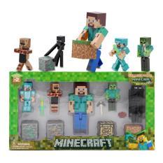 Combo mô hình steve Minecraft