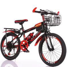 xe đạp thể thao 20 inh cho bé trai học Tiểu học- CÓ GIỎ XE VÀ GÁCBAGA