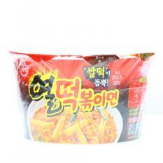 Mì và bánh gạo xào Ottogi Yeul Tteokbokki Ramen vị cay tô 140g