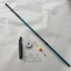 [ Xả Kho ] Bộ cần câu tay shimano giá rẻ 2m7 tặng kèm bộ dây câu, phao câu, chì câu, lưỡi câu ( Ngu Long )