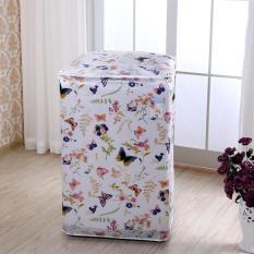 Áo Trùm Máy Giặt Cửa Trên Vải Dù Size 12 – 15kg Hoa Văn Đa Dạng Độ Bền Cao – Kara House