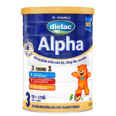 Tặng 1 Nồi inox FiveStar 20cm – Bộ 4 Lon Sữa Bột Dielac Alpha 3 – Lon 1.5kg – Dành cho bé 1-2 tuổi – HSD luôn mới