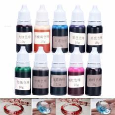 Bộ 10 màu chuyên pha keo resin epoxy