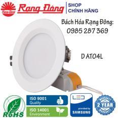 Bộ 12 Đèn LED âm trần Rạng Đông 12W Փ110, Vỏ NHÔM ĐÚC, siêu tản nhiệt, SAMSUNG chipLED
