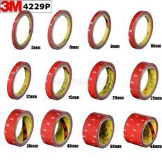 Băng Keo Cường Lực Siêu Dính 3M, Băng Dính Đục Dài 3 Mét [5mm,10mm,15mm,20mm,25mm,30mm,40mm]