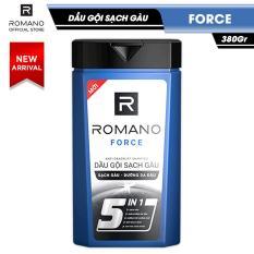 Dầu gội sạch gàu Romano Force loại bỏ & ngăn gàu trở lại 380gr
