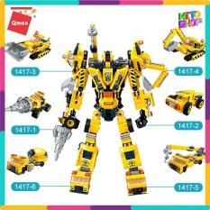 bộ đồ chơi xếp hình thông minh lego qman Người máy kĩ thuật 1417 cho trẻ