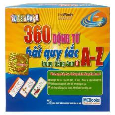Sách – Flashcard 360 động từ bất quy tắc trong tiếng Anh