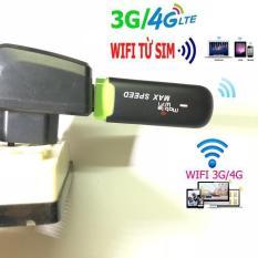 Usb Phát Wifi 3G 4G – Usb Max Speed chuyên dụng cho xe ô tô, wifi camera giám sát, wifi tivi căng đét