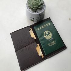 Ví da đựng hộ chiếu, vỏ bao passport cao cấp