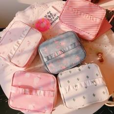 Túi dựng mỹ phẩm xách tay, túi đựng đồ mỹ phẩm đa năng, chống thấm nước, kích thước 25x20x10cm