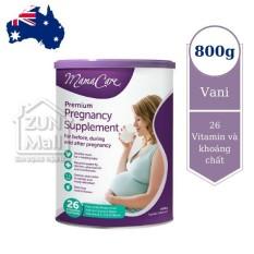 Sữa Bầu Mamacare 800g Nội Địa Úc Dành Cho Phụ Nữ Có Thai Và Cho Con Bú – Sản Phẩm Nhập Khẩu Phân Phối Chính Hãng
