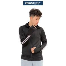 Áo chống nắng nam thông hơi vân sọc thể thao vải kim cương cao cấp Venado áo khoác nắng nam che mặt che tay chống tia UV